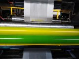 Espulsore del film di materia plastica con la stampatrice di Flexo
