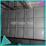 Presión de la plaza de 1000m3 de depósito de agua de plástico reforzado con fibra