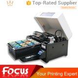 Imprimante UV de la vente A3 de la taille 6 de Vocano-Gicleur chaud de couleur pour la carte en plastique