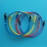 2FT Kabel LSZH van het Flard Ethernet van CAT6A de Netwerk Geïnitialiseerde