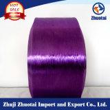 filato trilobale di colore della fibra del nylon FDY di vendita calda 140d/48f