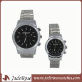 Großhandelsform-Quarz-Armbanduhr für Men Legierungs-Paar-Uhr
