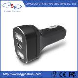 3-Port intelligente Auto-Aufladeeinheiten USB-5V 5.4A für Apple und androide Einheiten