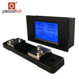 Pzem-051 contador del panel actual de Digitaces de la energía de la potencia del voltaje de la C.C. 6.5-100V 50A 4in1