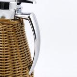De nieuwe Verpakkende Thermosfles van de Rotan van het Idee Met de hand gemaakte met de Voering van het Glas (JGHY)