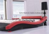 نمط حديثة غرفة نوم جلد [دووبل بد] إطار