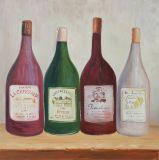 Olieverfschilderij van de Impressionist van 100% het Met de hand gemaakte voor het Decor van het Huis