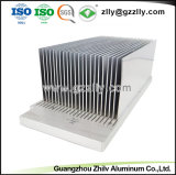 ISO9001를 가진 열 싱크를 위한 Precisio 높은 알루미늄 밀어남은 증명서를 줬다