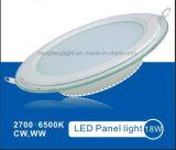 Высокий свет панели люмена 2835 SMD круглый СИД стеклянный