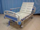 Het medische Staal van het Meubilair van het Ziekenhuis van de Levering Één Ziek Bed van het Hoofdeinde van de Functie Afneembaar