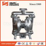 Pompe à diaphragme pneumatique en acier inoxydable (QBY)
