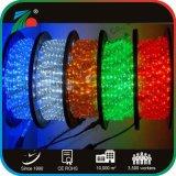 Haute luminosité 3 câbles en PVC à plat 60L 220V Cordon LED pour la décoration