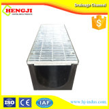 Venta caliente Barranca lineal de plástico con rejilla de acero galvanizado
