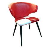 PU 가죽에 의하여 덧대지는 금속 여가 대중음식점 다방 의자 (JY-R45)