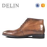 Schoenen de Van uitstekende kwaliteit van het Leer van de Laarzen van het Kant van mensen