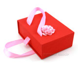 Prendas de Vestir Bowknot de cinta de embalaje de regalo de cartón Caja cajón