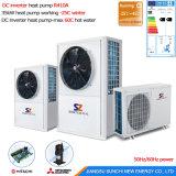 -25C Le radiateur de chauffage géothermique Evi Source de masse de la pompe à chaleur