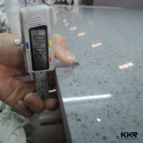 부엌 Coutertop (KKR-QS005)를 위한 설계된 백색 석영 돌