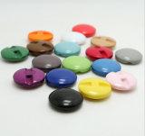 2017 최신 판매 좋은 품질 다채로운 의복 단추 수지 단추