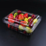 Freie Verpackungs-Maschinenhälften-faltende Kasten-Früchte, die Imbiss-Behälter-Schnellimbiss-Plastikkasten verpacken