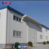 Amplia gama de diseño de la luz de bajo coste de almacén de la estructura de bastidor de acero