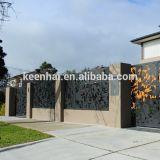 Het decoratieve Schermen van het Aluminium van de Tuin Poeder Met een laag bedekte voor Veiligheid