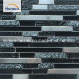 Comercio al por mayor de alta calidad de la fábrica de mosaicos de vidrio metálico OEM
