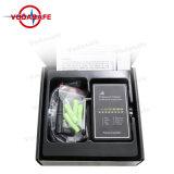 Kit rivelatore tenuto in mano professionale del segnale di Cellphonejamming e di GPS dell'emittente di disturbo del telefono delle cellule, tracciato di GPS di fuga