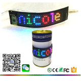Tabellone flessibile della bottiglia della pubblicità LED del messaggio corrente programmabile di Bluetooth