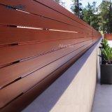 Design exclusivo sol Sombra empurrador da fresta de alumínio