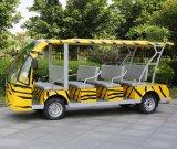 14 de Elektrische Bus van de Pendel van de Auto van het Sightseeing Seater (dn-14)