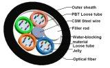 Gyty Antena metálico e o Duto 48 Core Cabo de Fibra Óptica