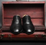 Oficial de los hombres Zapatos de Vestir Zapatos Derby zapatos de cuero auténtico
