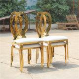 Yc-Zs25-1金のステンレス鋼の結婚式のための切り分けられた宴会の無限椅子