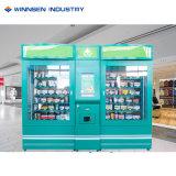 Mini double de l'hôpital de la pharmacie vending machine avec affichage de publicité