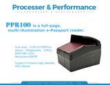Boutiques hors taxes d'identité électronique E-passeport Passeport NFC Mrz OCR Reader (PPR-100)