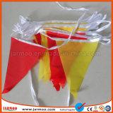 Customized Bunting van de Druk van het Ontwerp van de vorm Vrije Vlag
