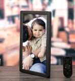 Aiyos 이중 스크린을%s 가진 새로운 15.4 인치 LCD 디지털 액자 미디어 플레이어