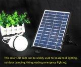 太陽動力を与えられたLED屋外ランプの照明、15W 12 LEDの、庭のための太陽電球携帯用LEDライト屋外キャンプ