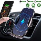 2020 verbeterde versie H8 draadloze oplader voor in de auto, 10 W Qi autoklemming luchtventilatietelefoonhouder, compatibele iPhone 11/11 PRO/PRO Max, Samsung Note10/S10/S9