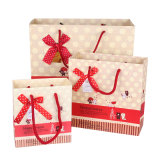 2017 Luxury рождественских подарков бумажные мешки (YH-PGB065)