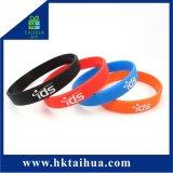 De promotie Armband van het Silicone van de Manchet van Sporten voor de Club van de Gymnastiek & van de Fitness