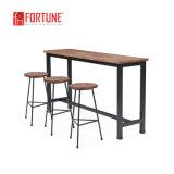 Bon prix barre de trame de jeu de meubles en métal, High Bar Table avec tabouret
