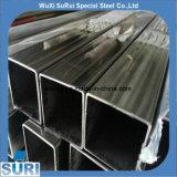 China proveedor espejo pulido cuadrado perfecto de tubos de acero inoxidable 304