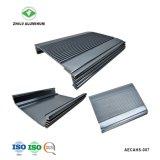 Perfil de aluminio anodizado pulido personalizado para el alquiler de Audio con ISO9001