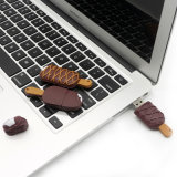 Смешные шоколадное мороженое флэш-накопитель USB
