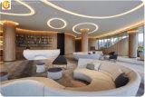 新しいデザインレストランの家具のソファーの座席のソファー
