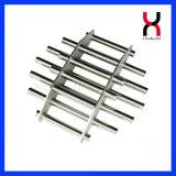 Bandeja magnética magnética de neodimio de filtro para máquinas de inyección de plástico