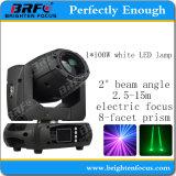 小型100W LEDのビーム移動ヘッドライトを明るくしなさい