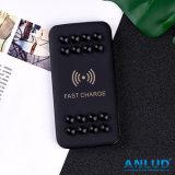 10W携帯電話のための黒い無線速い充満移動式力バンク